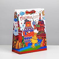 Пакет подарочный МС 'Москва'