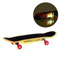 Пальчиковый скейт 'Тони', со световыми эффектами, МИКС