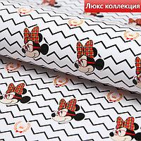 Бумага упаковочная глянцевая 'Минни', Минни Маус, 70х100 см (комплект из 10 шт.)