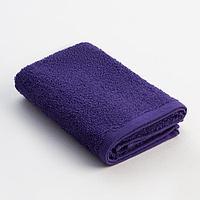 Полотенце махровое Экономь и Я 30х60 см, цв. фиолетовый, 100 хл, 320 г/м