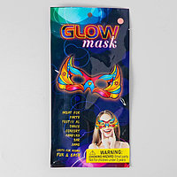 Неоновая маска 'Маскарад', цвета МИКС