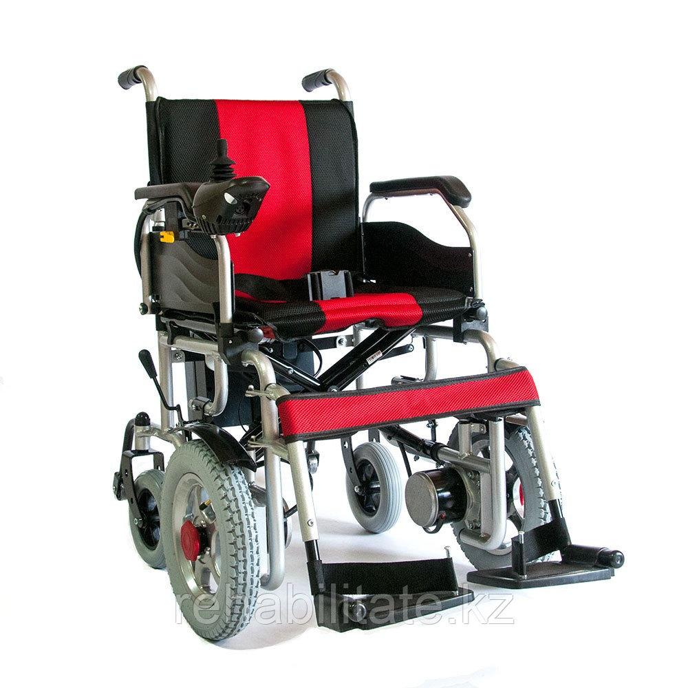 Кресло-коляска инвалидная с электроприводом FS110A (переднеприводная)