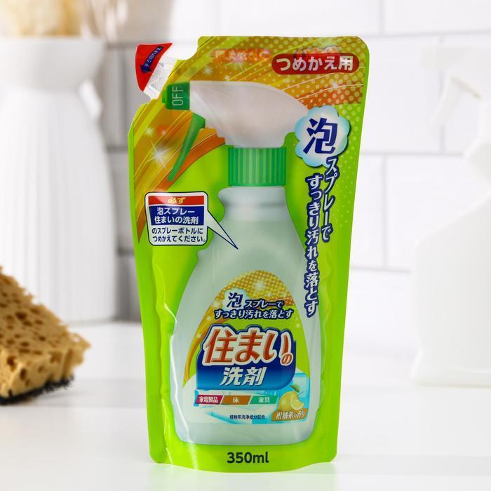 Чистящий-полирующий спрей-пена для мебели, электроприборов и пола Sumai Clean Spray, 350 мл - фото 1