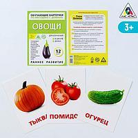 Обучающие карточки по методике Г. Домана 'Овощи'