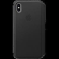 IPhone XS Max Leather Folio - Black, Model