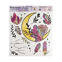 Наклейка виниловая 'Лунный свет', интерьерная, со светящимся слоем, 30 х 35 см