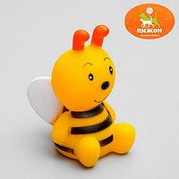 Игрушка пищащая 'Пчёлка' для собак, 8,5 см