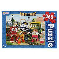Пазл 260 элементов Robot Trains
