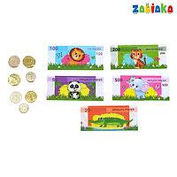 Набор игрушечных денег и монет 'Мои денежки'