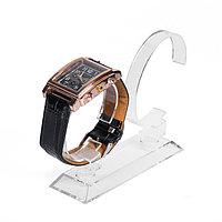 Подставка под часы, двойная, цвет прозрачный, 11,5*6,5*9,5 см (комплект из 10 шт.)