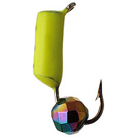 Мормышка столбик 3 'Хамелеон', цвет лимонный (комплект из 5 шт.)
