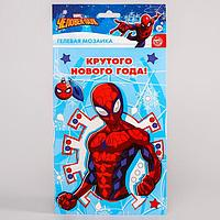 Мозаика гелевыми стразами 'Крутого Нового года' Человек-паук