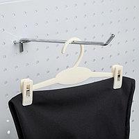 Вешалка для брюк и юбок L20, (фасовка 20 шт), цвет белый (комплект из 20 шт.)