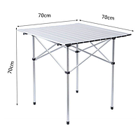 Стол складной кемпинговый (70х70х70cm)