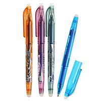 Ручка шариковая со стираемыми чернилами 0,5 мм, стержень синий, корпус МИКС (штрихкод на штуке) (комплект из