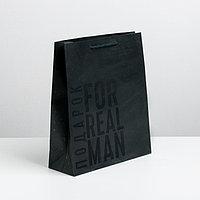 Пакет ламинированный вертикальный 'Мужская воля', MS 18 x 23 x 8 см (комплект из 6 шт.)