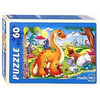 Пазл 'Динозавры 2', 60 элементов