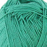 Пряжа 'Алина' 100 мерсеризованный хлопок 220м/50гр (0754, зеленая бирюза) (комплект из 3 шт.)