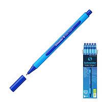 Ручка шариковая Schneider Slider Edge F, узел 0.8 мм, трёхгранный корпус, чернила синие