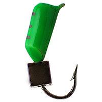 Мормышка столбик 3 'Хамелеон', цвет зелёный (комплект из 5 шт.)