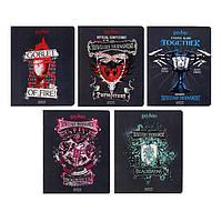 Тетрадь 48 листов в клетку 'Гарри Поттер', обложка мелованный картон, матовая ламинация, блок офсет, МИКС