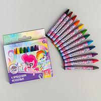 Восковые карандаши My Little Pony, набор 12 цветов