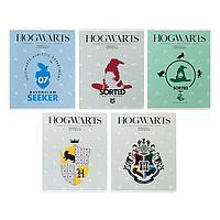 Тетрадь 24 листа клетка 'Гарри Поттер', обложка мелованный картон, выборочный лак, МИКС (комплект из 18 шт.)