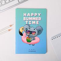 Тетрадь софт тач А5, 40 листов Happy summer time