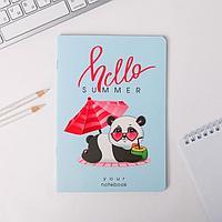 Тетрадь софт тач А5, 40 листов Hello, summer