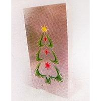 Набор для создания новогодней поздравительной открытки - изонить 'Ёлочка'
