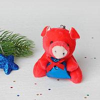 Подвеска 'Свинка', в лапках подарок, цвета МИКС (комплект из 12 шт.)