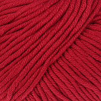 Пряжа 'Baby Cotton XL' 50 хлопок, 50 полиакрил 105м/50гр (3439 красный) (комплект из 5 шт.)