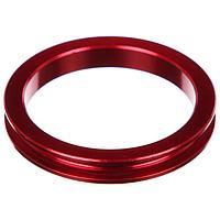 Кольцо проставочное 1-1/8'х5мм SPACER-R, алюминий, цвет красный