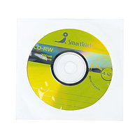 Диск CD-RW SmartTrack, 4-12x, 700 Мб, в конверте по 1 шт.