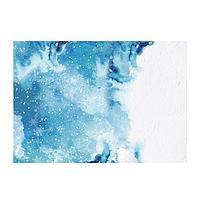 Фотофон 'Зимняя акварель', 70 x 100 см, бумага, 130 г/м (комплект из 5 шт.)
