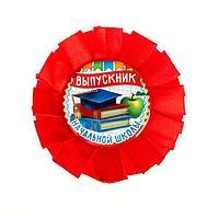 Значок-орден пластик 'Выпускник начальной школы', d4,5 см