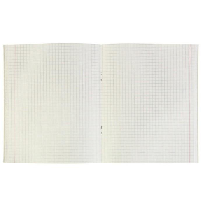 Тетрадь 96 листов в клетку 'Цветы', обложка мелованный картон, блок 2 белизна 75, МИКС (комплект из 4 шт.) - фото 2