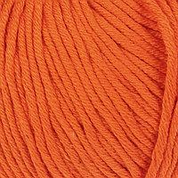 Пряжа 'Baby Cotton XL' 50 хлопок, 50 полиакрил 105м/50гр (3419 апельсин) (комплект из 5 шт.)