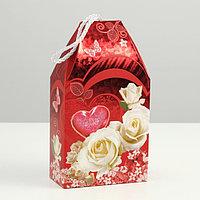 Подарочная коробка 'Сладкая любовь', сборная, 19,5 х 11 х 5,5 см (комплект из 10 шт.)