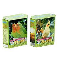 Корм 'Бриллиант' для средних попугаев, с фруктово-овощными добавками, 500 г
