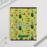 Тетрадь А5, 96 листов на скрепке Avocado