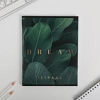 Тетрадь А5, 96 листов на скрепке Dream