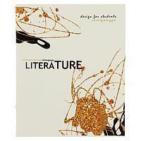 Тетрадь предметная 'Сияние', 40 листов в линейку 'Литература', обложка мелованный картон, выборочный лак с