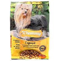 Сухой корм Chammy для собак мелких пород, курица, 600 г