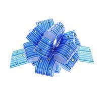 Бант-шар 3 'Капли дождя', цвет синий