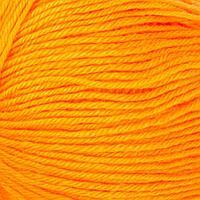 Пряжа 'Детский каприз' 50мериносовая шерсть, 50 фибра 225м/50гр (485-Желтооранжевый) (комплект из 5 шт.)