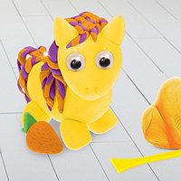 Игрушка из массы для лепки 'Пони' + глазки, стека