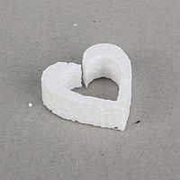 Заготовка из пенопласта 'Контурные мини-сердечки', набор 50 шт