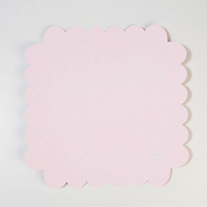 Коробка для кондитерских изделий с PVC крышкой 'Сладкие радости', 21 x 21 x 3 см (комплект из 10 шт.) - фото 5