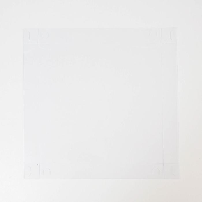Коробка для кондитерских изделий с PVC крышкой 'Сладкие радости', 21 x 21 x 3 см (комплект из 10 шт.) - фото 7